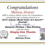 EPIC's 2015 Ariana eBook Cover Art Award Finalists